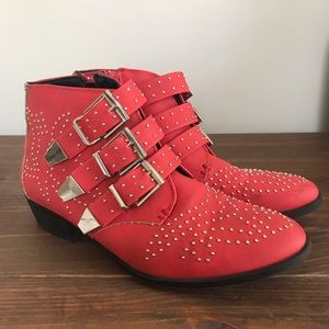 ASOS Truffle Collection Studded Booties